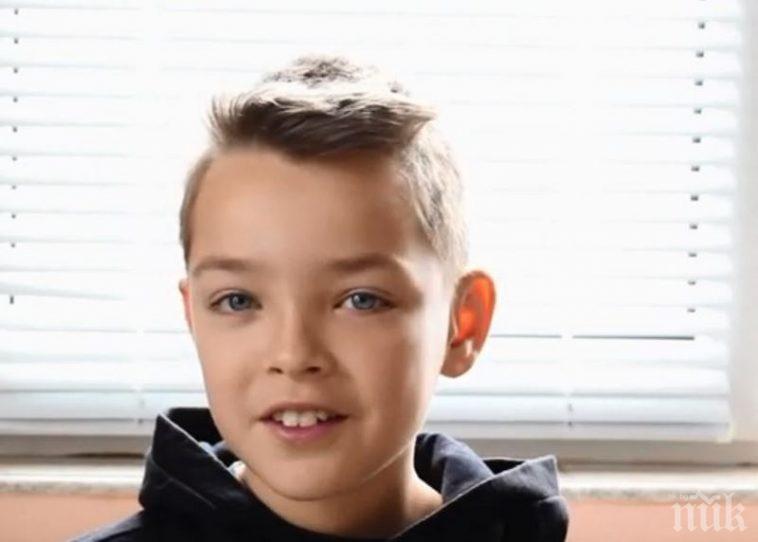 ЗА ПРИМЕР: 10-годишният Божидор от Добрич дари спестяванията си на болницата