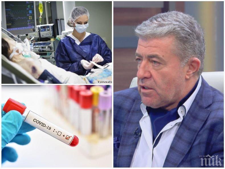 Проф. Генчо Начев с важни уточнения за усложненията, до които води коварният коронавирус: Заразата се разнася дори от начина на събличане на медицинското облекло