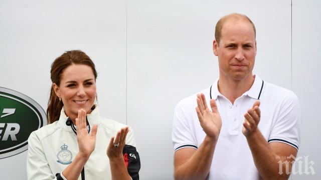 Принц Уилям и съпругата му Кейт с програма в подкрепа на психичното здраве на населението във Великобритания