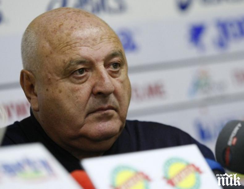 Венци Стефанов с обръщение към децата на Славия: Стадионът опустя без вашия смях, но ви благодаря за дисциплината