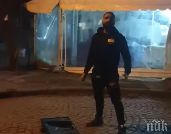 БРУТАЛНА ПРОВОКАЦИЯ! Мъж от Ямбол зове към улични бунтове (ВИДЕО)