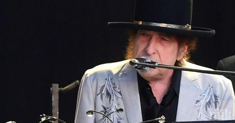Боб Дилън изпя 17-минутна песен за убийството на Кенеди