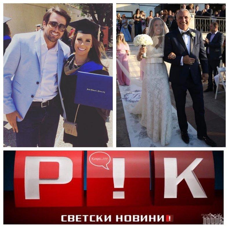 САМО В ПИК TV: Семейните драми за Христо Стоичков нямат край - защо зет му Лука Белич напусна дъщеря му и още разкрития за предстоящия развод