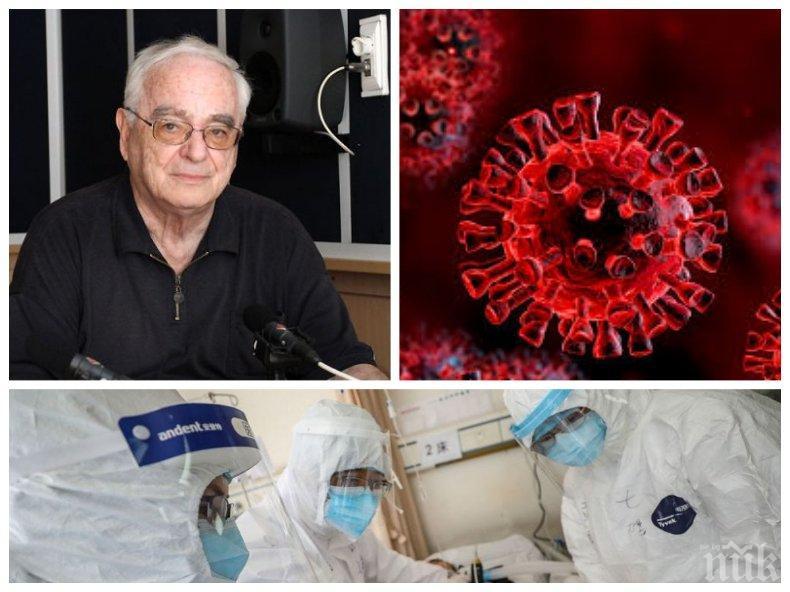 Топ вирусологът акад. Ангел Гълъбов с гореща прогноза: Има шанс да избегнем трагедията на Италия и Испания