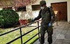 Испанската армия дезинфекцира домовете за възрастни хора