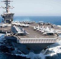 Коронавирусът удари военно-морските сили на САЩ - два самолетоносача са под карантина