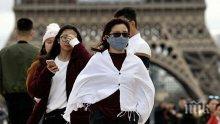 509 нови смъртни случая от коронавируса във Франция