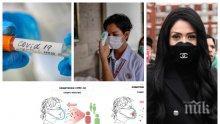 Лекари в подкрепа на Ананиев: Дори несъвършените самоделни маски намаляват разпространението на заразата (СХЕМИ)