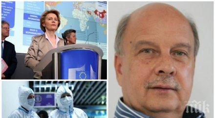 САМО В ПИК! Георги Марков гневно: Идиоти по време на чума! Брюкселският неолиберален елит погреба Европа - оставка на фон дер Лайен!