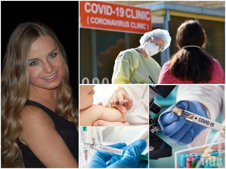 БИТКАТА СРЕЩУ COVID-19! Българка изследва с екип от САЩ връзката между БЦЖ ваксината и заразата. Ето с колко повече са заболелите от страните без имунизация