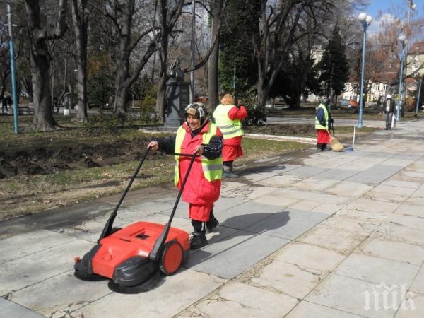 Видин започва пролетното почистване, но без граждани