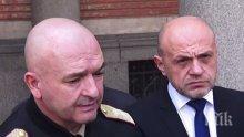 Вицепремиерът Томислав Дончев, министър Ананиев и ген. Мутафчийски представят информационна система срещу COVID-19