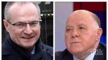 Представляващият ВСС Магдалинчев за скандала с манипулираната система на Лозан Панов и Христо Иванов: След като не е добре защитена, е по-добре да се направи нова