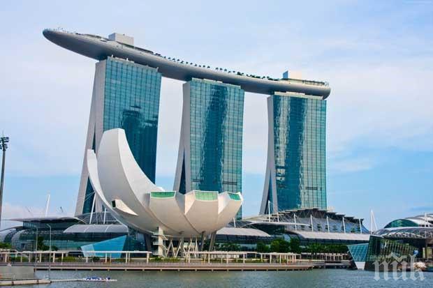 Най-големият изложбен комплекс в Сингапур стана полева болница