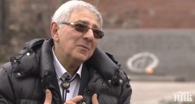Хайгашод Агасян за коронавируса пред ПИК: Съгласен съм да отнемат част от моите права в името на общото благо. Господ иска да ни разтърси, но не спирам да пиша песни