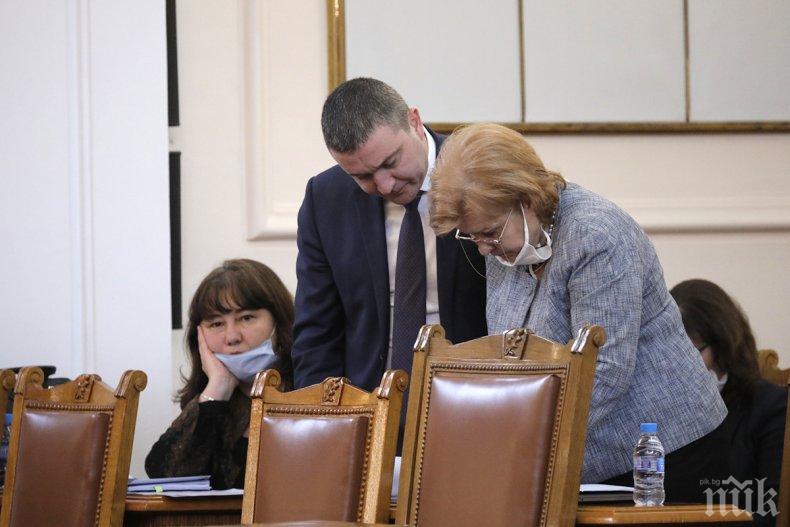 Бюджетната комисия в НС прие на второ четене промени в закона за държавния бюджет (СНИМКИ)