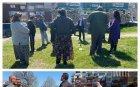 НА ВНИМАНИЕТО НА ГЕН. МУТАФЧИЙСКИ! СИГНАЛ ДО ПИК: Червеният кмет на Русе скандално гази мерките! Агитира без маска сред избиратели в градинка на жилищен квартал (СНИМКИ)