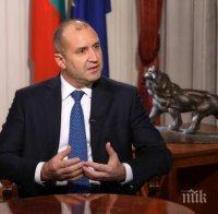 Румен Радев с пиар акция след убийствения рейтинг на кабинета