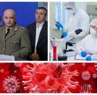 ИЗВЪНРЕДНО В ПИК TV! Ген. Мутафчийски с последни данни за атаката на коронавируса - 624 са заразените, 54 са излекувани (ВИДЕО/ОБНОВЕНА)