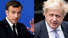 Президентът на Франция с подкрепа за британския премиер Борис Джонсън, който се бори за живота си