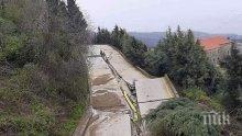 Бедствие: Пороите разрушиха пътища на Атон, град Карея е откъснат