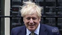 """""""Даунинг стрийт"""": Премиерът Борис Джонсън диша без помощ и е в добро настроение"""