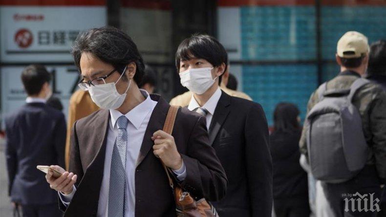 Япония с рекорден брой нови заразени с COVID-19
