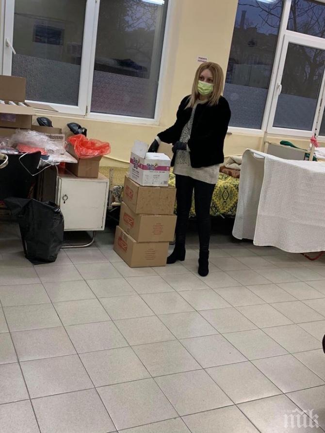 НФСБ направиха дарения за медиците в Сливен и Асеновград