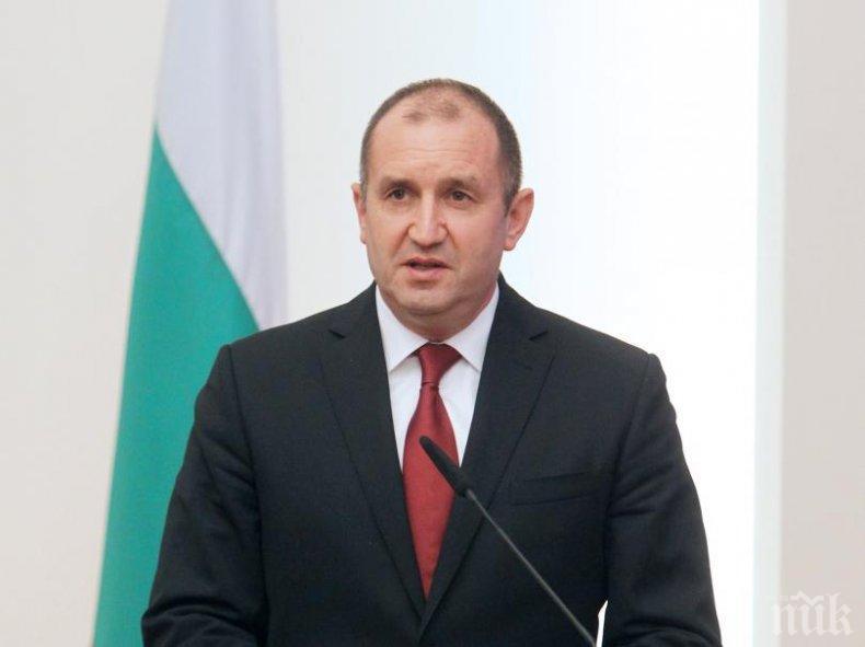 Президентът утвърди закона за актуализацията на държавния бюджет