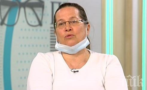 Д-р Гергана Николова проговори за медиците на предната линия и заразата: Голям брой хора ще срещнат инфекцията