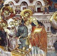 вяра започва страстната седмица велики понеделник честваме голям светец