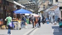Прекратиха договорите на трима търговци на Женския пазар в София заради неспазване на противоепидемичните мерки