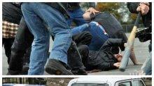 КЪРВАВ ЕКШЪН: Колекторски фирми в невиждано меле заради дълг! Служител вади пистолет, стреля в краката на конкурентите