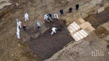 НЕВИЖДАН УЖАС: Погребват в масови гробове на остров жертвите на коронавируса в Ню Йорк (ШОКИРАЩО ВИДЕО)