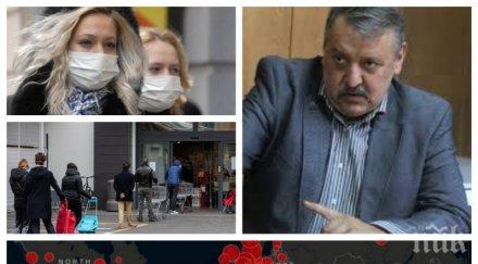 Проф. д-р Тодор Кантарджиев пред ПИК: Ако не удържим заразата по Цветница и Великден, епидемията ще бъде жестока!