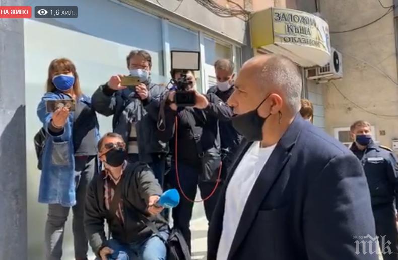 ПЪРВО В ПИК TV: Борисов се тросна за Радев: Не искам да говоря за него. Все едно един човек да ти подаде ръка, след като ти е ударил шамар (ОБНОВЕНА)