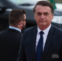 Президентът на Бразилия очаква съвсем скоро САЩ да обявят изпращането на ваксини срещу коронавируса за страната му