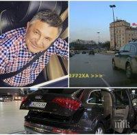 ИЗВЪНРЕДНО В ПИК: Надрусаният джигит, убил Милен Цветков, засечен да минава на червено и преди 3 месеца (ВИДЕО)
