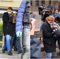 Майката и братът на обвинения за смъртта на Милен Цветков проговориха пред съда
