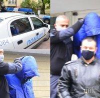 САМО В ПИК: Отведоха убиеца на Милен Цветков в столичното следствие - Кристиан Николов се крие с маска и качулка (СНИМКИ)