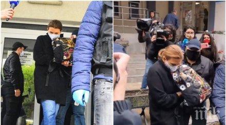 пик вижте майката дрогирания кристиан районно десислава николова мълчи медиите маска откараха сдвр видео снимки