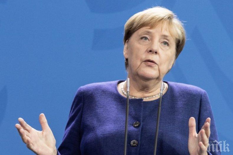 """Ангела Меркел нарече """"вакханалия"""" дискусиите за облекчаване на карантинния режим"""
