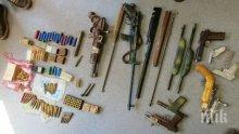 Спипаха апап от Ветрен с купища самоделни пушкала (СНИМКИ)