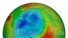 Озоновата дупка над Арктика се затвори