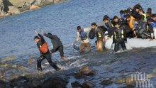 Двама мигранти са ранени при стрелба в бежанския лагер на остров Лесбос