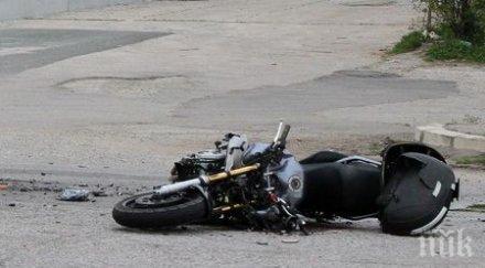 ТРАГЕДИЯ: Моторист загина край град Стамболийски