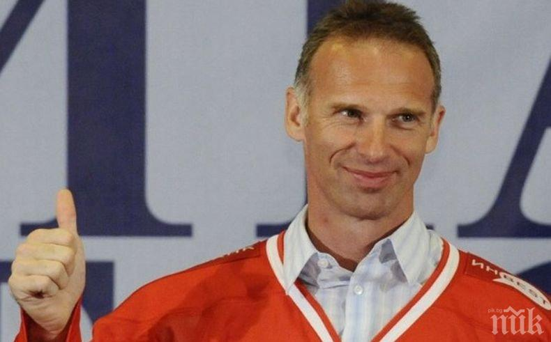 Хокейна легенда може да се кандидатира за президент на Чехия