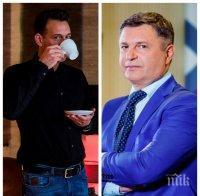 ИЗВЪН ЕФИРА: Кръчма в Пловдив спасява Милен Цветков след уволнение от БНТ - покойният тв водещ изритал 13 сервитьори от заведението на Камен Воденичаров