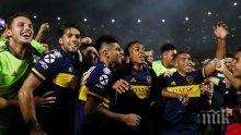 Футболният шампионат на Аржентина бе прекратен заради коронавирусната пандемия