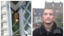 САМО В ПИК: Маратонки за 300 лв. от Берлин за арестувания Кристиан ли пазарува майка му? Ето какво достави куриер на барикадиралата се в къщата си Десислава (СНИМКИ)